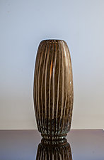 Barrel Vase by Richard S. Jones (Art Glass Vase)