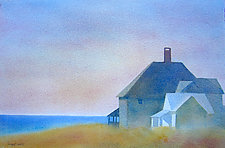 Quiet Morning II by Suzanne Siegel (Watercolor Painting)