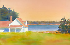 Deer Isle I by Suzanne Siegel (Watercolor Painting)