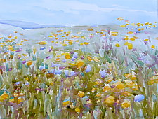 Color Field by Suzanne Siegel (Watercolor Painting)