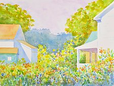 Midsummer I by Suzanne Siegel (Watercolor Painting)