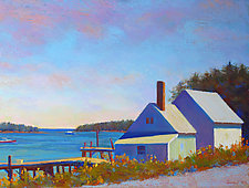 Two Shacks, Spring by Suzanne Siegel (Giclee Prints)