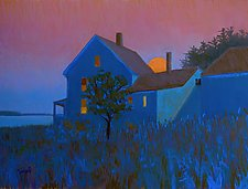 I Have Been Waiting for This Night by Suzanne Siegel (Pastel Painting)
