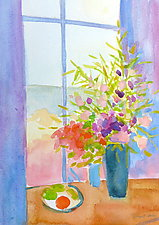After Breakfast III by Suzanne Siegel (Watercolor Painting)