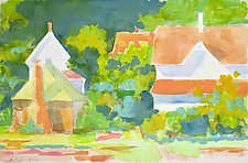 Village of Stony Creek III by Suzanne Siegel (Watercolor Painting)