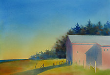 Warm Light III by Suzanne Siegel (Watercolor Painting)