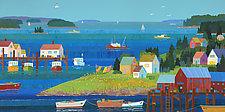Harbor Village II by Suzanne Siegel (Giclee Print)