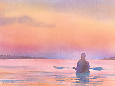 All is Calm by Suzanne Siegel (Watercolor Painting)
