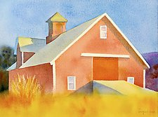 Morning Light, June by Suzanne Siegel (Watercolor Painting)