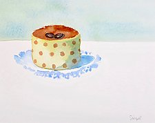 Cappuccino Mousse by Suzanne Siegel (Watercolor Painting)