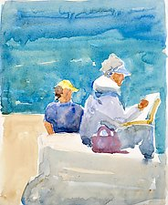 Artists by Suzanne Siegel (Watercolor Painting)