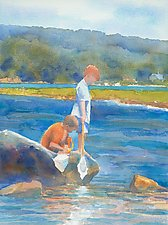 Searching I by Suzanne Siegel (Watercolor Painting)