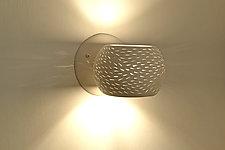 Claylight Porcupine Sconce by Sharan Elran, Yael Erel, and Avner Ben Natan (Ceramic Sconce)