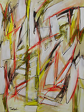 Abstract Art Eight by Lynne Taetzsch (Acrylic Painting)