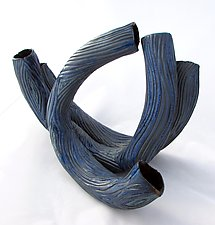 Waves 2 by Amy Meya (Ceramic Sculpture)