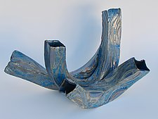 Waves 3 by Amy Meya (Ceramic Sculpture)