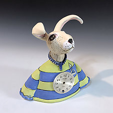 Times There Are a Changing by Amy Goldstein-Rice (Ceramic Sculpture)