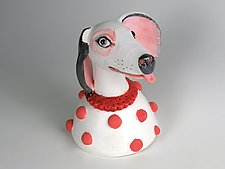 Be Free to Laugh by Amy Goldstein-Rice (Ceramic Sculpture)