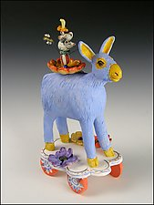 Join the Parade by Amy Goldstein-Rice (Ceramic Sculpture)