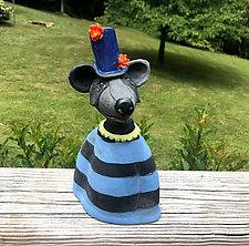 Billy by Amy Goldstein-Rice (Ceramic Sculpture)