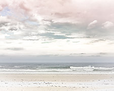 Pastel Beach by Pamela Viola (Color Photograph)