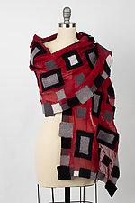 Naomi Wrap by Elizabeth Rubidge  (Silk & Wool Wrap)