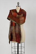 Calista Wrap by Elizabeth Rubidge  (Silk & Wool Wrap)