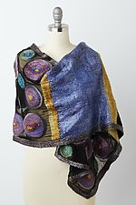 Monroe Wrap by Elizabeth Rubidge (Silk & Wool Wrap)