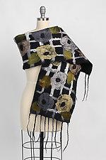 Adele Scarf by Elizabeth Rubidge  (Silk & Wool Scarf)