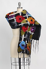 Adele Scarf by Elizabeth Rubidge  (Silk & Wool Scarf)