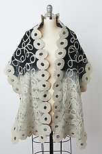 Zia Wrap by Elizabeth Rubidge (Silk & Wool Wrap)