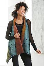 Taja Vest by Elizabeth Rubidge (Silk & Wool Vest)