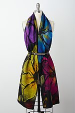 Teshi Wrap by Elizabeth Rubidge (Silk & Wool Wrap)