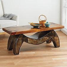 Wave Coffee Table by Ben Gatski and Kate Gatski (Metal Cabinet)