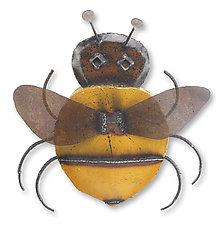 Honey Bee by Ben Gatski and Kate Gatski (Metal Wall Sculpture)