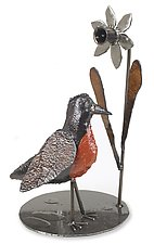Robin Sculpture by Ben Gatski and Kate Gatski (Metal Sculpture)