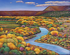 Rio Chama by Johnathan  Harris (Acrylic Painting)