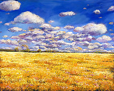 Fields of Gold by Johnathan  Harris (Acrylic Painting)