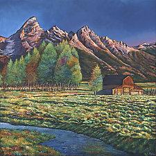 Wyoming by Johnathan  Harris (Giclee Print)