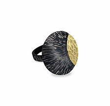 New Day Ring by Susan Mahlstedt (Gold & Silver Ring)