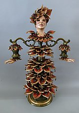 Autumn by Heather Campbell (Ceramic Sculpture)