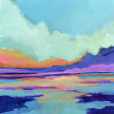 Sunrise Reflection by Filomena Booth (Acrylic Painting)