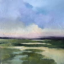 Summer Marsh by Filomena Booth (Acrylic Painting)