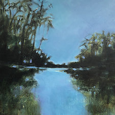 Quiet Waters by Filomena Booth (Acrylic Painting)