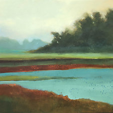 Moccasin Slough by Filomena Booth (Acrylic Painting)