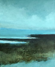 Silent Sea by Filomena Booth (Acrylic Painting)