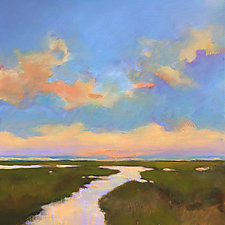 Evening Sunset by Filomena Booth (Acrylic Painting)