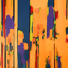 Fragments I by Filomena Booth (Acrylic Painting)
