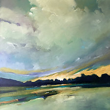 River Sunset by Filomena Booth (Acrylic Painting)