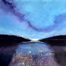 Starlight by Filomena Booth (Acrylic Painting)